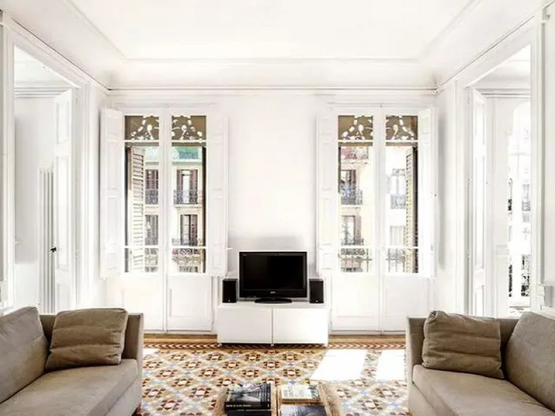 花砖用得好,比地毯还要美,而且更好打理!