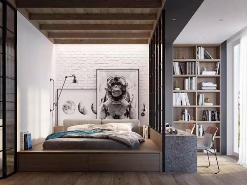佛山福彩3D论坛丨35个卧室背景墙设计方案,果然比大白墙美!