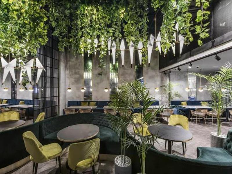 设计大观|让食客在丛林中呼吸的餐厅