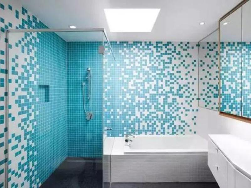 告别单调老土,安利5款瓷砖让浴室铺贴高级又有范